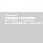 Stellungnahme zur EU-Tierversuchsrichtlinie