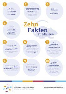 Grafik: Zehn Fakten zu Mäusen