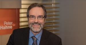 Prof. Stefan Treue in der Senung Peter Hahne (ZDF)