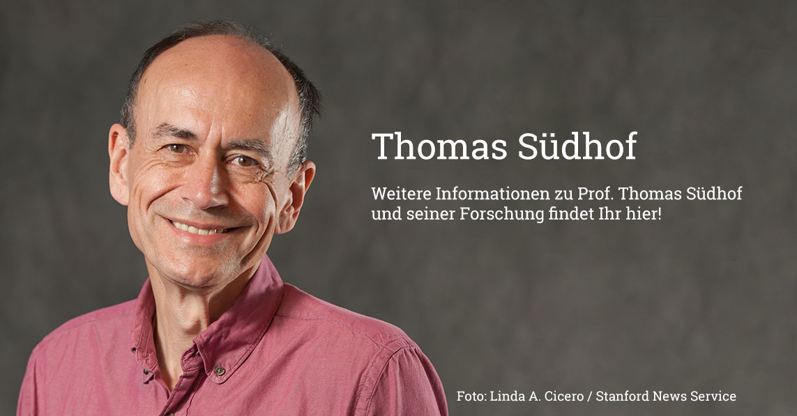 Triff den Nobelpreisträger Prof. Thomas Südhof!