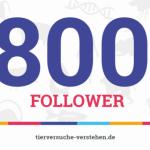 Initiative freut sich über 800. Follower